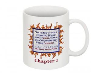 """""""SCREW YOU!"""" v.1 Book, Chapter 1 Mug (Back)"""