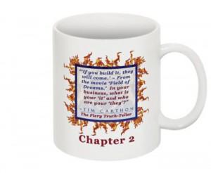 """""""SCREW YOU!"""" v.1 Book, Chapter 2 Mug (Back)"""