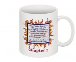 """""""SCREW YOU!"""" v.1 Book, Chapter 3 Mug (Back)"""