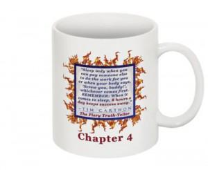 """""""SCREW YOU!"""" v.1 Book, Chapter 4 Mug (Back)"""