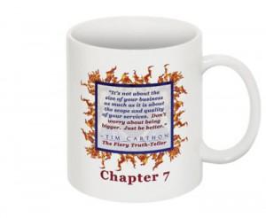 """""""SCREW YOU!"""" v.1 Book, Chapter 7 Mug (Back)"""