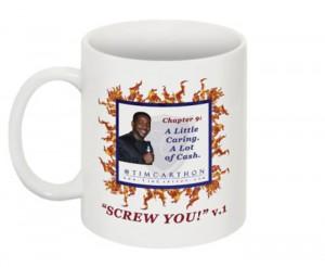 """""""SCREW YOU!"""" v.1 Book, Chapter 9 Mug (Front)"""