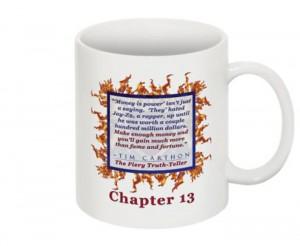 """""""SCREW YOU!"""" v.1 Book, Chapter 13 Mug (Back)"""