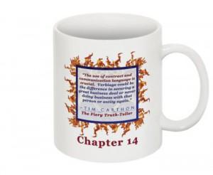 """""""SCREW YOU!"""" v.1 Book, Chapter 14 Mug (Back)"""