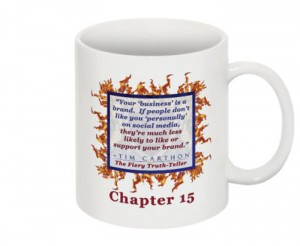 """""""SCREW YOU!"""" v.1 Book, Chapter 15 Mug (Back)"""