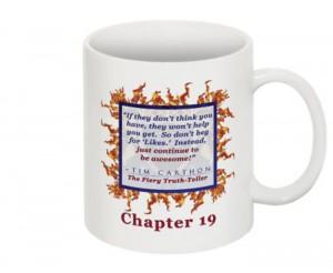 """""""SCREW YOU!"""" v.1 Book, Chapter 19 Mug (Back)"""